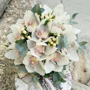 """Букет невесты из орхидей """"Цимбидиум"""" - фото 1"""