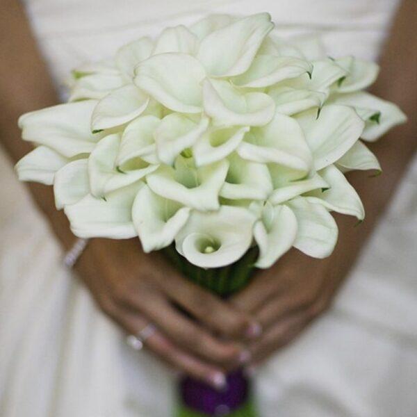 """Букет невесты """"Белые каллы"""" - фото 1"""