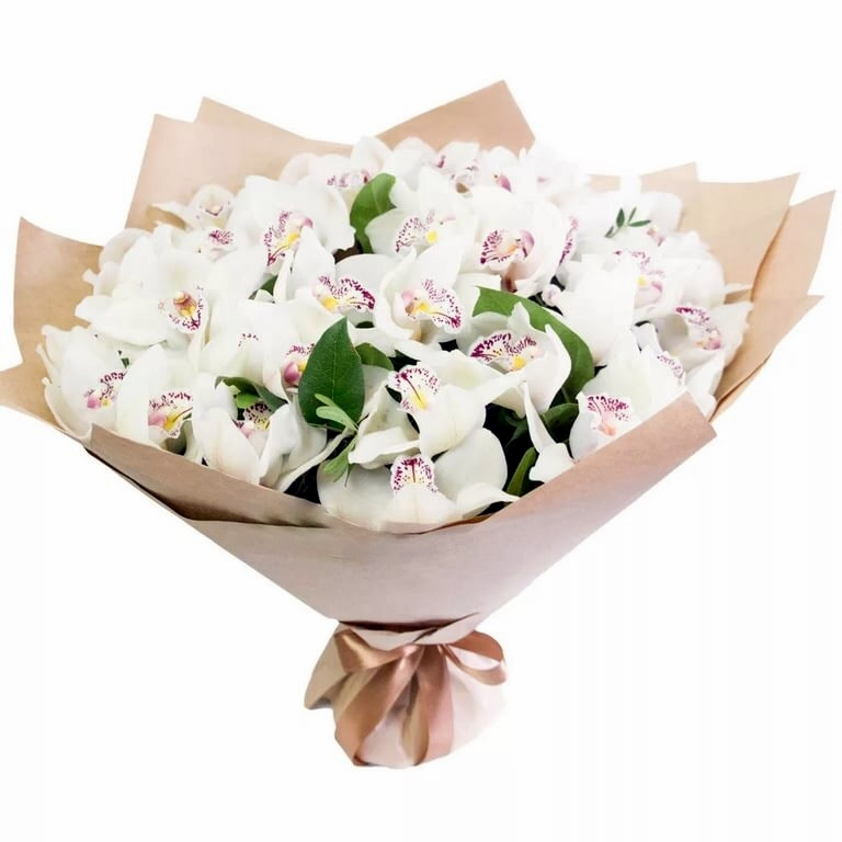 Букет Белая орхидея, изображение 1