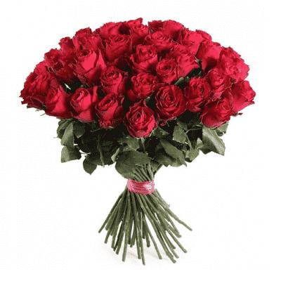 Букет Букет из премиальных красных роз, изображение 1