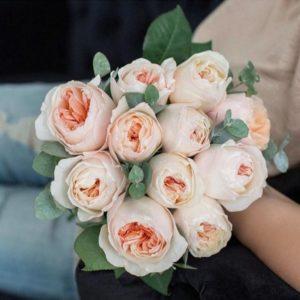 "Букет роз ""Роза Шекспира"" - фото 1"