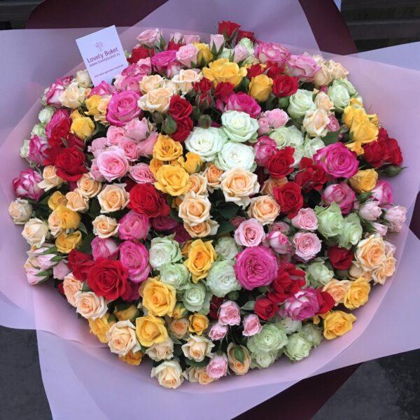 """Букет роз """"Восторг"""" - фото 1"""
