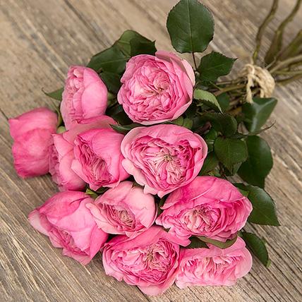 """Букет роз от Дэвида Остина """"Мария Тереза"""" - фото 1"""
