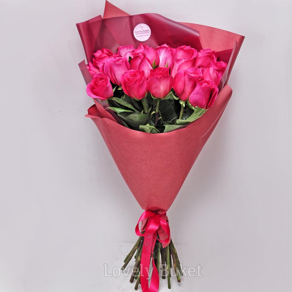 """Букет Премиум Розы """"Pink floyd"""", изображение 1"""