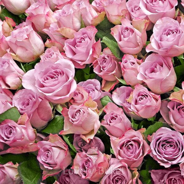 """Цветочная композиция в корзине 365 роз """"1 год вместе"""" - фото 2"""