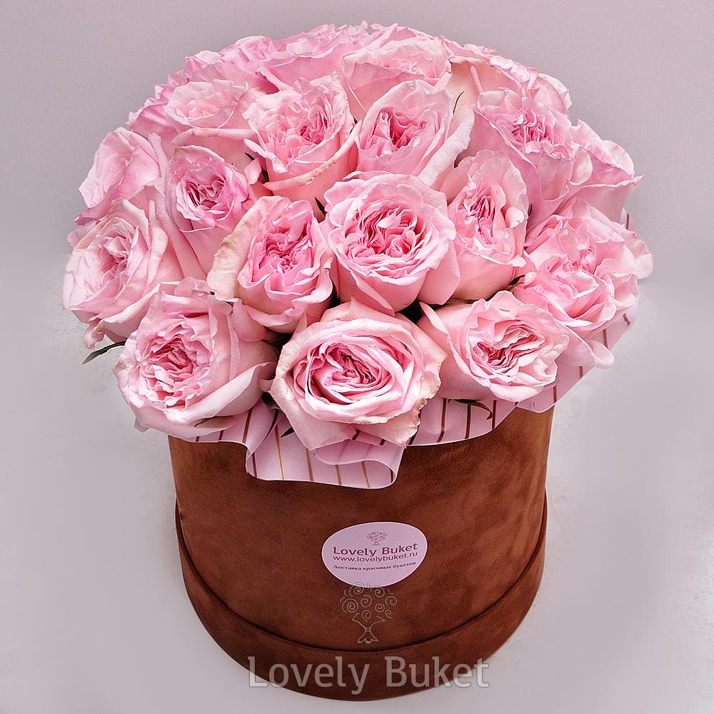 Букет Пионовидная роза с фруктовым ароматом, изображение 1