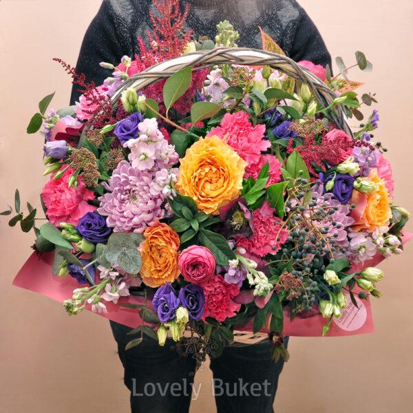 "Корзина цветов ""Du Soleil"" - фото 1"