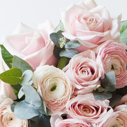Ранункулюсы Ханой и роза Sweet - фото 2