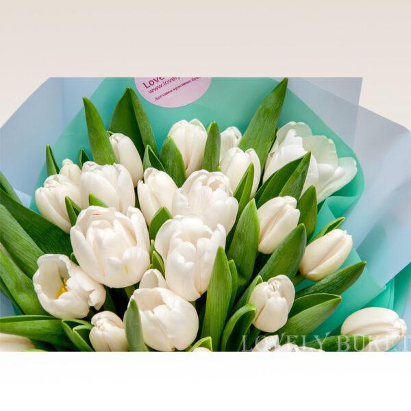 """Букет тюльпанов """"Свежесть весны"""" (49) - фото 2"""