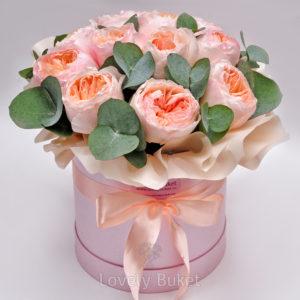 """Букет пионовидных роз """"David Austin"""" - фото 1"""