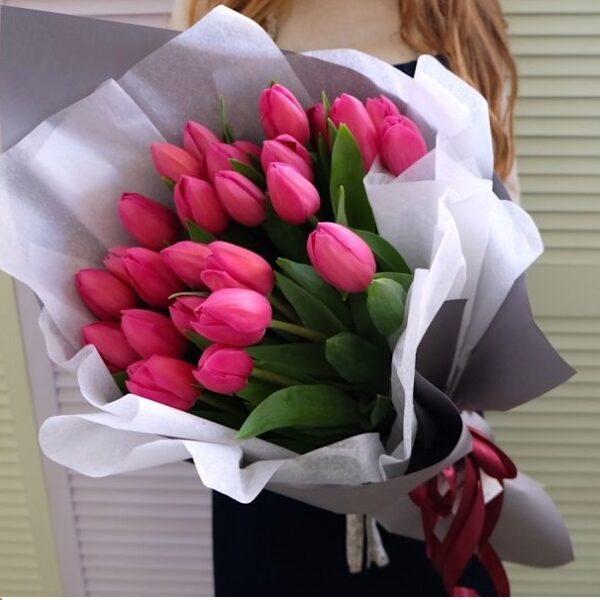 """Букет тюльпанов """"Princess"""" - фото 1"""