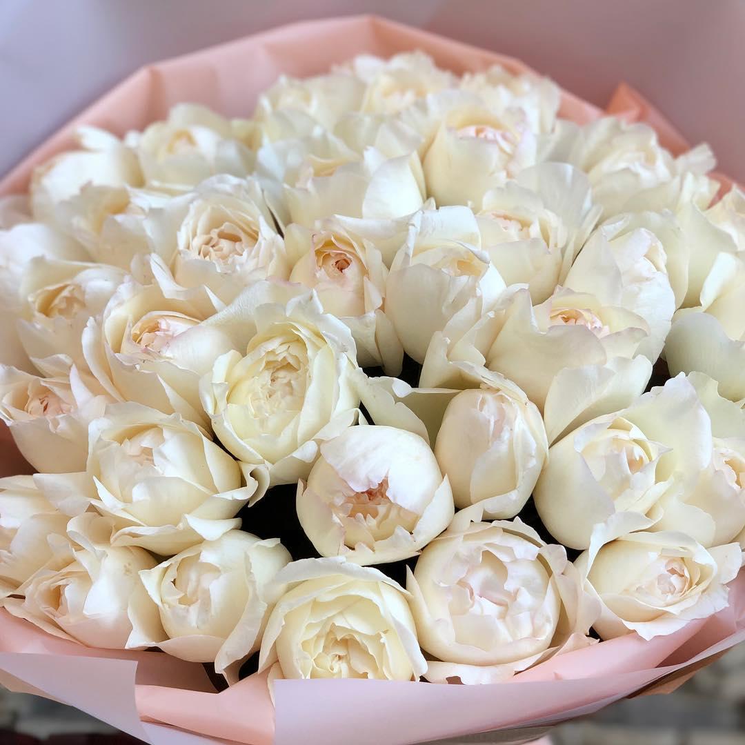 Французские розы с доставкой по москве