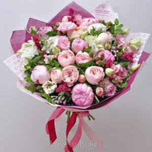 """Букет """"Ягодно - цветочное наслаждение"""" - фото 1"""