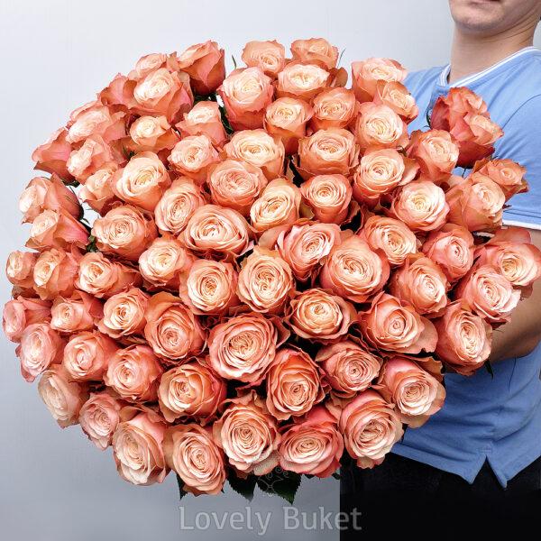 """Букет пионовидных роз """"Kahala"""" - фото 1"""