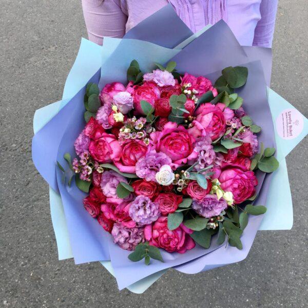 """""""Букет в Амарантовой гамме"""" - фото 3"""