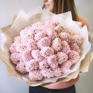Букет из розовых гиацинтов - фото 1