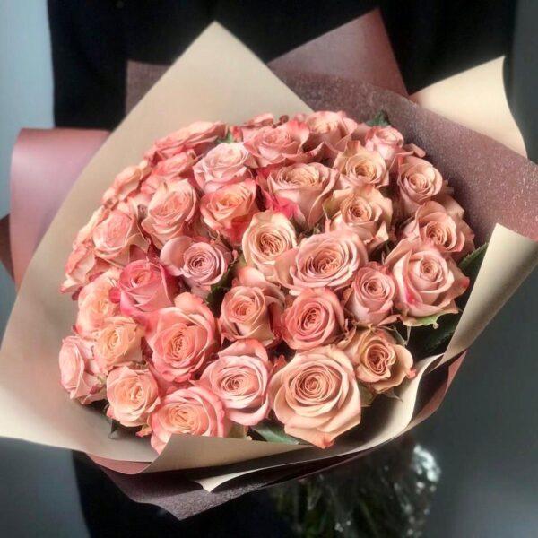 "Букет роз ""Aroma & Capuccino"" - фото 1"