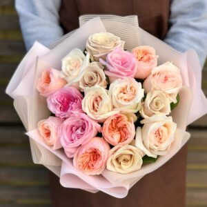"Букет роз ""Розовый сад"" - фото 1"
