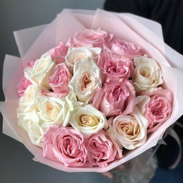 """Букет ароматных садовых роз """"Princesse"""" - фото 2"""