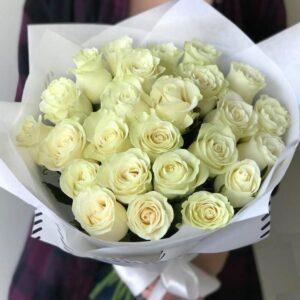 Высокие эквадорские розы с цитрусовым ароматом - фото 1