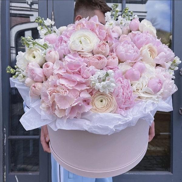 """Элитная цветочная композиция """"Облака"""" - фото 1"""