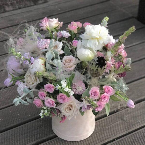 """Композиция """"Волшебные пионы и ароматные розы"""" - фото 2"""