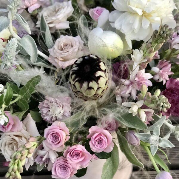 """Композиция """"Волшебные пионы и ароматные розы"""" - фото 3"""