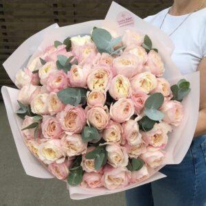 Букет селективных роз David Austin - фото 1