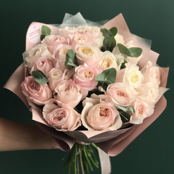 Букет селективных роз David Austin - фото 2
