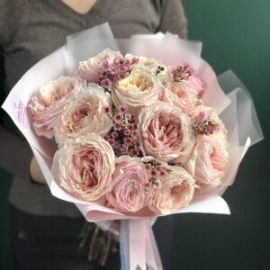 Восхитительные японские пионовидные розы - фото 1